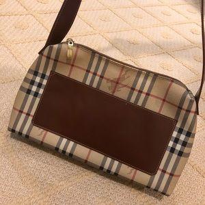 Lightweight canvas Burberry shoulder bag